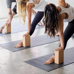 Блок для йоги из пробки Bodhi